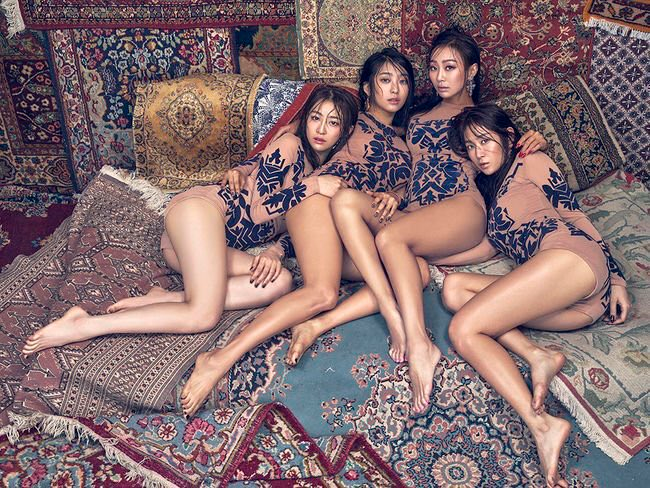 "SISTAR Achieves Perfect All-Kill On Live Music Charts With ""I Like That"""