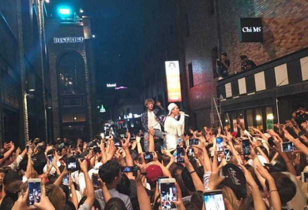 Watch: Song Mino And Bobby Light Up Itaewon With Guerrilla Performance