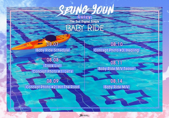 """UNIQ's Seungyoun Releases Schedule For """"Baby Ride"""" Feat. BTOB's Hyunsik"""