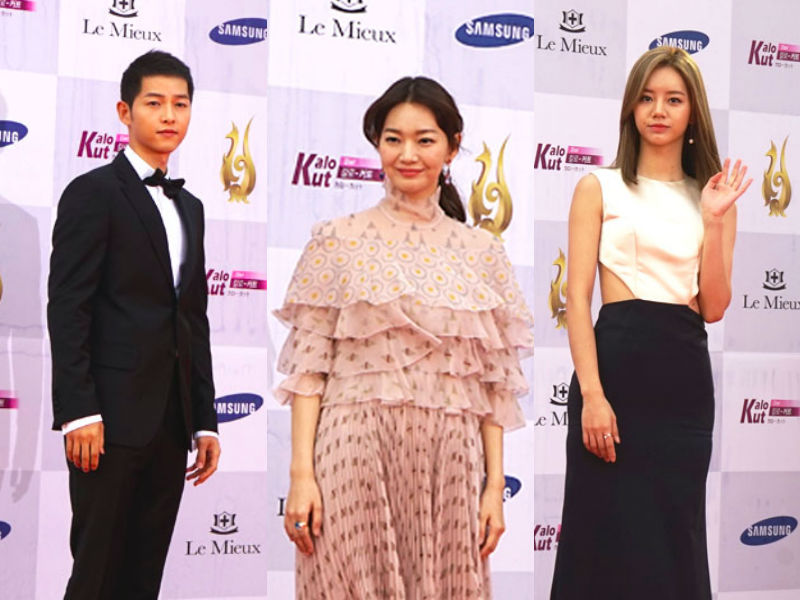 Korean And International Actors Stun At Seoul Drama Awards 2016 Red Carpet