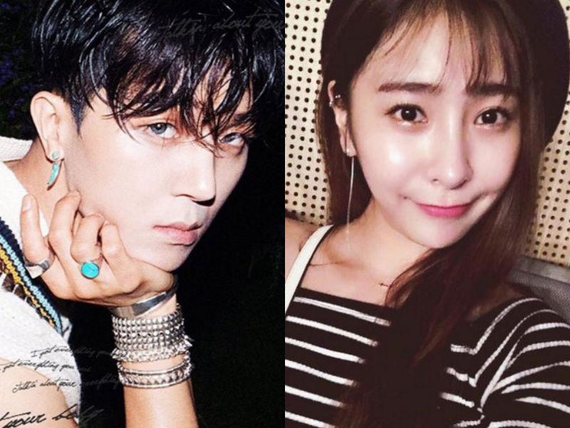 """WINNER's Song Mino Dispels Rumor Of Dating """"Produce 101"""" Member Heo Chanmi"""