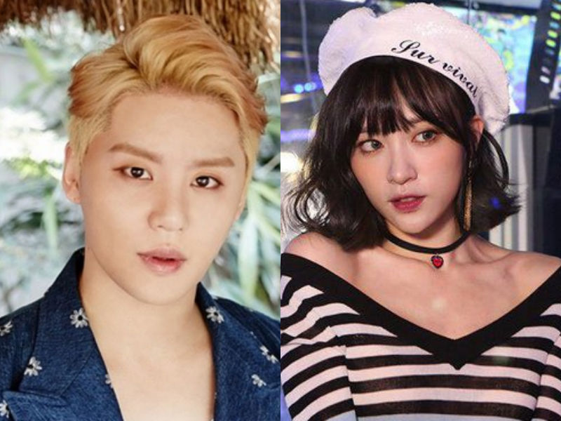 Breaking: JYJ's Junsu And EXID's Hani Revealed To Have Broken Up