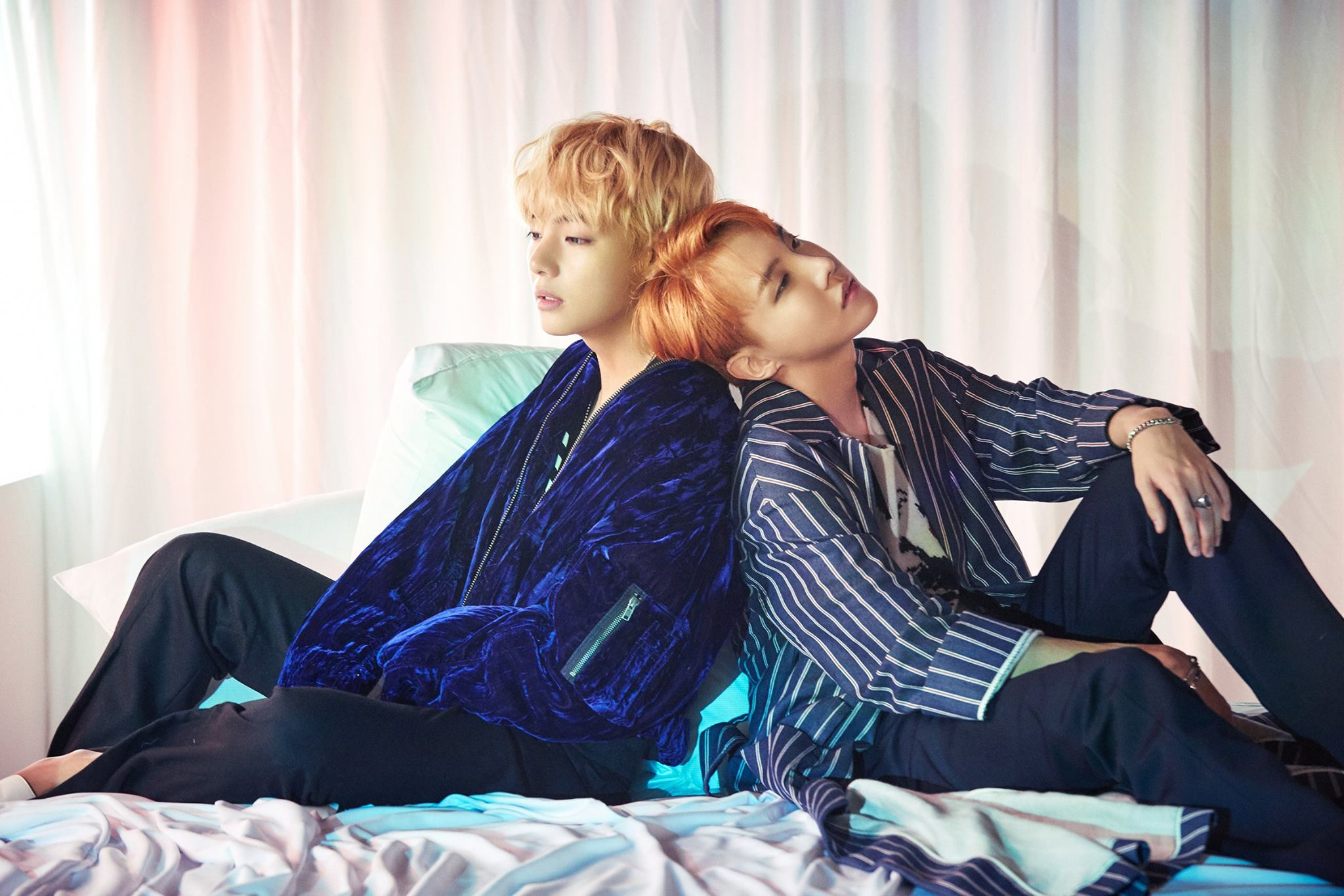 "BTS's V And J-Hope Feature In Gorgeous New Concept Photos For ""WINGS"""