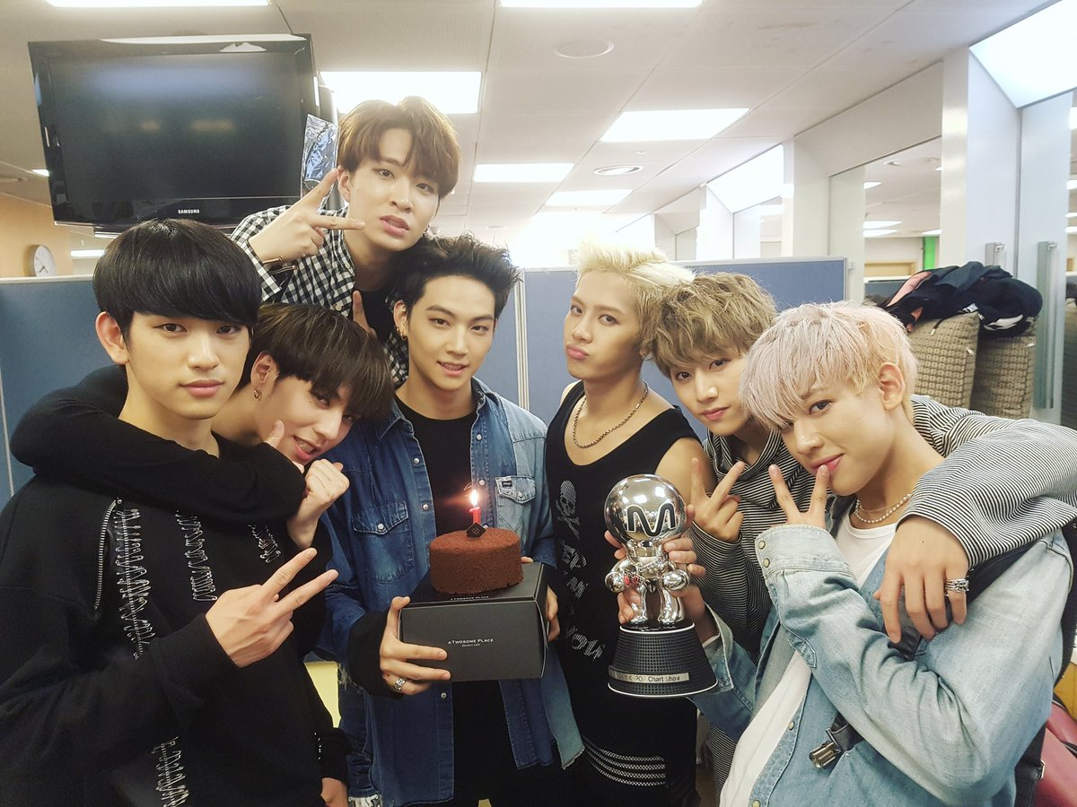 """GOT7 Takes 1st Win For """"Hard Carry"""" On """"M!Countdown,"""" Comeback Performances By SHINee, Ailee, And MONSTA X"""