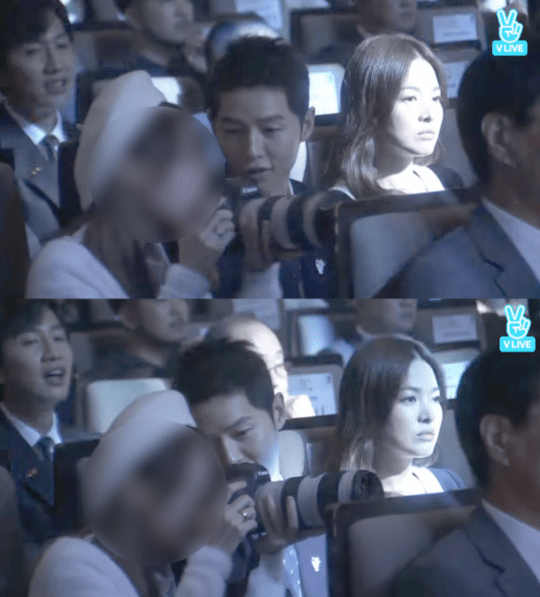 song joong ki bts fan 2016 korean pop culture and arts awards