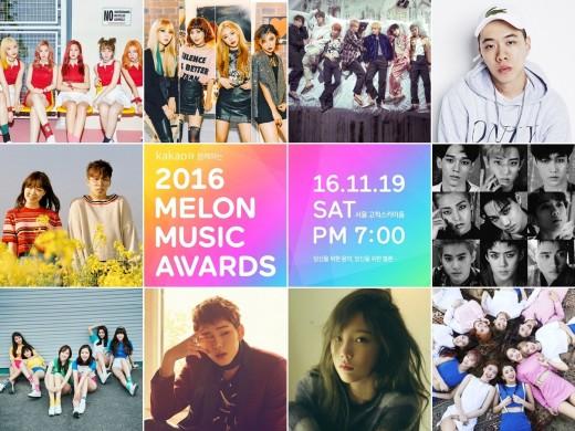 2016 MelOn Music Awards Top 10
