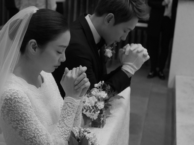 wedding, celebrity - Korean Celebrities Rain and Kim Tae Hee Get Married In A Private Wedding Ceremony