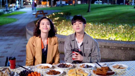 """- ben wu aviis zhong dinner 540x304 - 5 Most Romantic, Swoon-Worthy Moments From The Taiwanese Drama """"Iron Ladies""""  - ben wu aviis zhong dinner 540x304 - 5 Most Romantic, Swoon-Worthy Moments From The Taiwanese Drama """"Iron Ladies"""""""