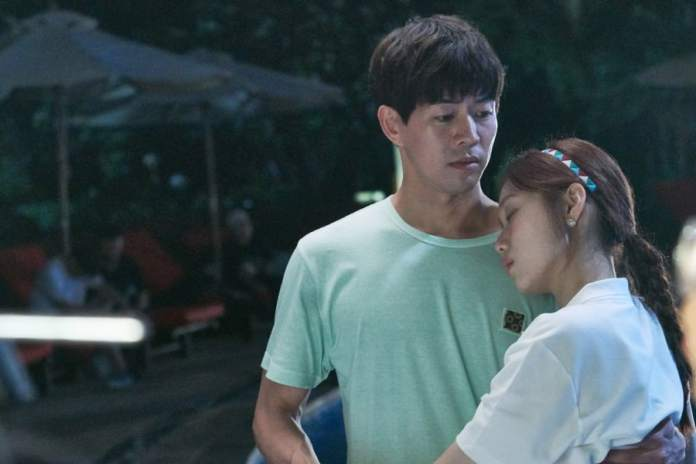 "- Lee Sang Yoon Lee Sung Kyung 3 - Lee Sang Yoon And Lee Sung Kyung Share Passionate Poolside Embrace In ""About Time""  - Lee Sang Yoon Lee Sung Kyung 3 - Lee Sang Yoon And Lee Sung Kyung Share Passionate Poolside Embrace In ""About Time"""
