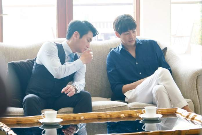 """- lee sang yoon about time - Lee Sang Yoon And Yu Xiaoguang Face Off As Classy International Businessmen In """"About Time""""  - lee sang yoon about time - Lee Sang Yoon And Yu Xiaoguang Face Off As Classy International Businessmen In """"About Time"""""""