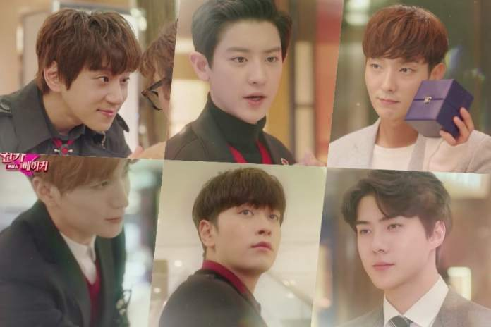"- Hwang Chi Yeol EXO Chanyeol Lee Joon Gi Sehun 2PM Chansung Super Junior Leeteuk - Watch: Dreamy Cast Starts Their Beauty Makeover In Lotte Duty Free's Drama ""Secret Queen Makers""  - Hwang Chi Yeol EXO Chanyeol Lee Joon Gi Sehun 2PM Chansung Super Junior Leeteuk - Watch: Dreamy Cast Starts Their Beauty Makeover In Lotte Duty Free's Drama ""Secret Queen Makers"""