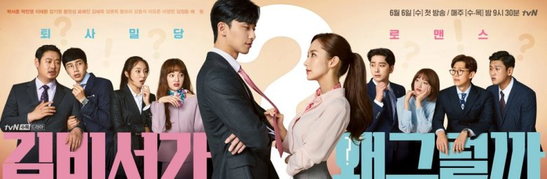 Image result for what's wrong with secretary kim poster