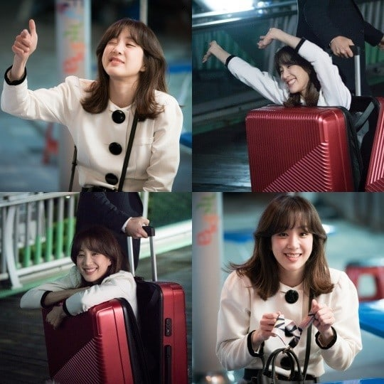 """- Jung Ryeo Won 21 - Jung Ryeo Won Has Fun Being Silly Behind The Scenes Of """"Wok Of Love""""  - Jung Ryeo Won 21 - Jung Ryeo Won Has Fun Being Silly Behind The Scenes Of """"Wok Of Love"""""""