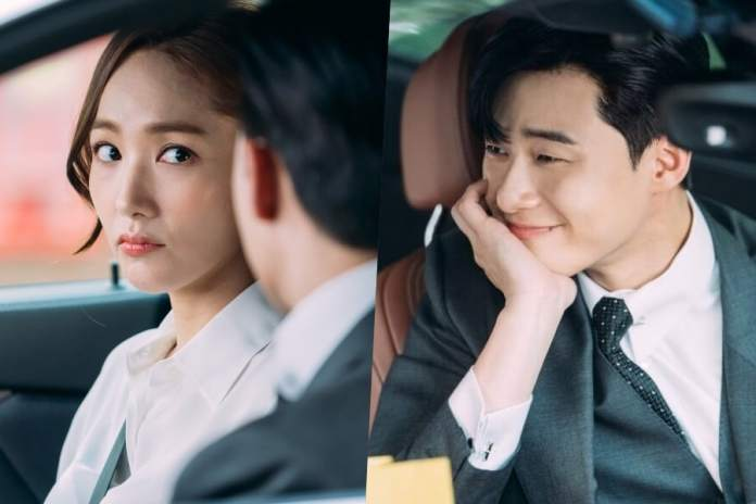 "- Park Min Young Park Seo Joon7 - Park Seo Joon Has Heart Eyes For Park Min Young In ""What's Wrong With Secretary Kim""  - Park Min Young Park Seo Joon7 - Park Seo Joon Has Heart Eyes For Park Min Young In ""What's Wrong With Secretary Kim"""