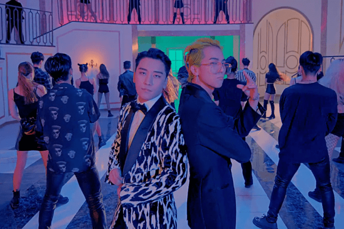 """- Seungri Song Mino - Watch: Seungri And Song Mino Parody Recent Political Events In Comedic """"Where R U From"""" MV  - Seungri Song Mino - Watch: Seungri And Song Mino Parody Recent Political Events In Comedic """"Where R U From"""" MV"""