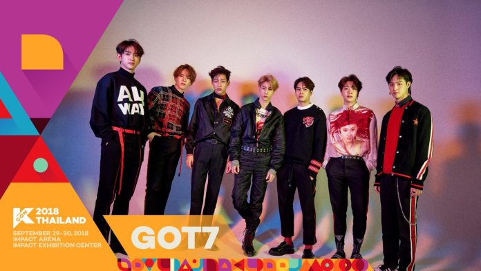 - GOT7 - GOT7, PENTAGON, And More Announced For First Lineup Of KCON 2018 Thailand  - GOT7 - GOT7, PENTAGON, And More Announced For First Lineup Of KCON 2018 Thailand