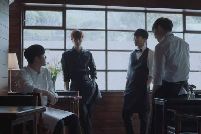 """- BTOB Blue1 - Watch: BTOB-BLUE Sings About """"When It Rains"""" In MV For First Comeback  - BTOB Blue1 - Watch: BTOB-BLUE Sings About """"When It Rains"""" In MV For First Comeback"""