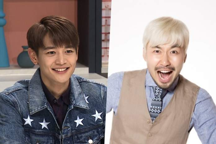 """- Minho Noh Hong Chul 1 - SHINee's Minho And Noh Hong Chul To Become Special MCs For """"Music Core""""  - Minho Noh Hong Chul 1 - SHINee's Minho And Noh Hong Chul To Become Special MCs For """"Music Core"""""""
