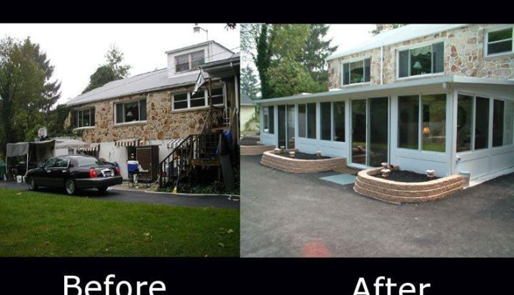 PICS OF SUNROOMS BEFORE AND AFTER BY BETTERLIVING SUNROOMS OF PITTSBURGH