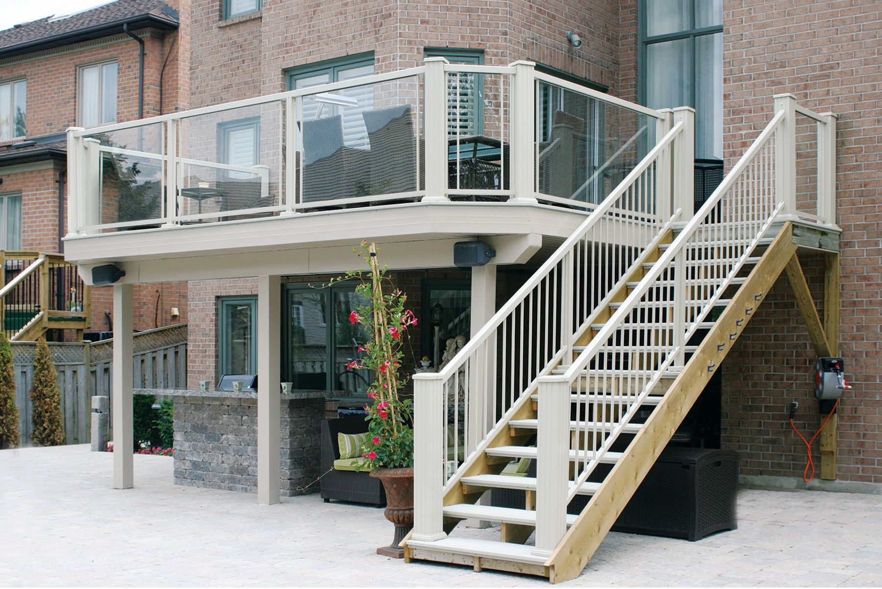Aluminum deck boards will outlast anyother material, forget about composites and vinyls that degrade over time, are soft and expand/contract with temperature. Water tight aluminum decking is perfect for patio, docks, decks, porches and balconies. Out high tech powder coat finish with imbedded crumble ensures a truly non-skid deck surface.