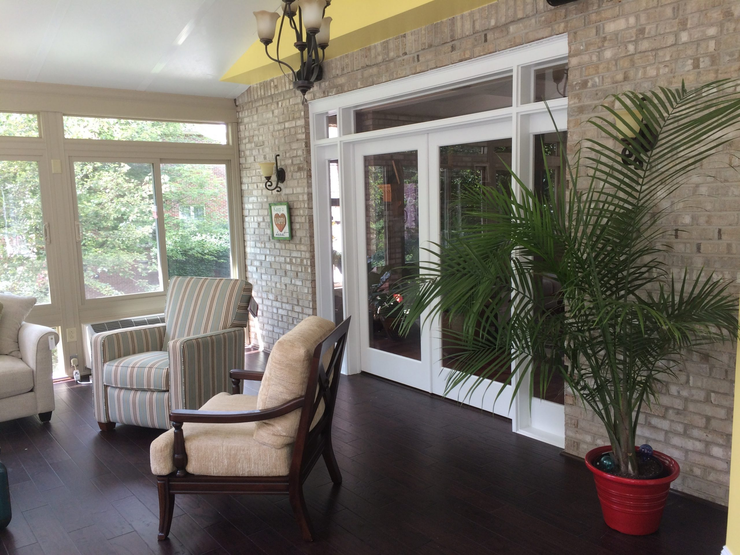 Inside View of Betterliving Sunroom