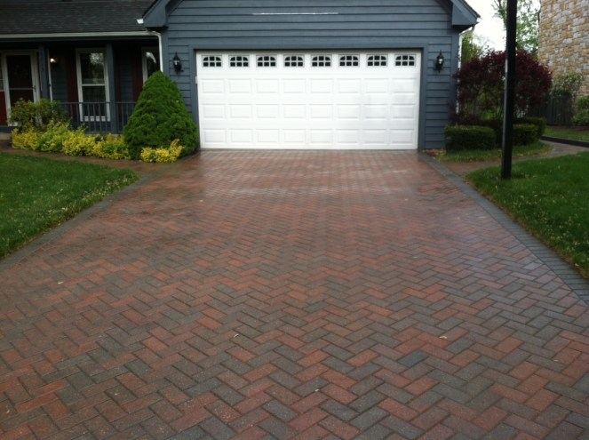 After Photo of a Driveway