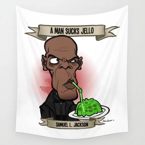 A Man Sucks Jello (Samuel L. Jackson)