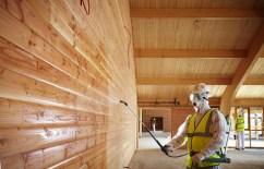 Противопожарная обработка дерева и деревянных конструкций