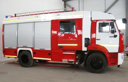 автоцистерна пожарная ац40