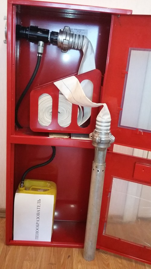 испытание пожарного крана