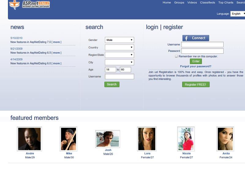 Script Clone Facebook Like ASP.NET
