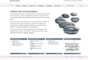 InfoGlue CMS Java JEE gratuit et open source
