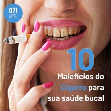 Prejuízos do Cigarro para a Saúde da sua Boca