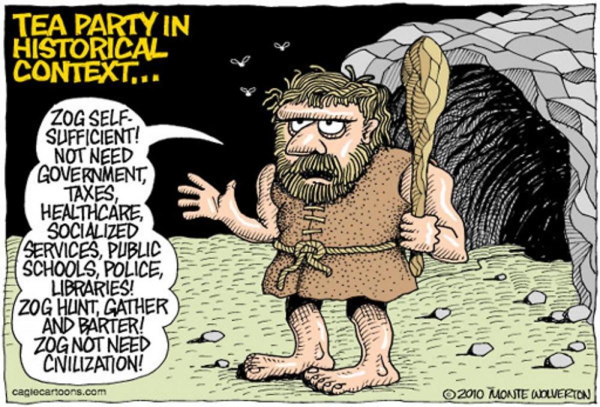 01 Tea Party Cartoon