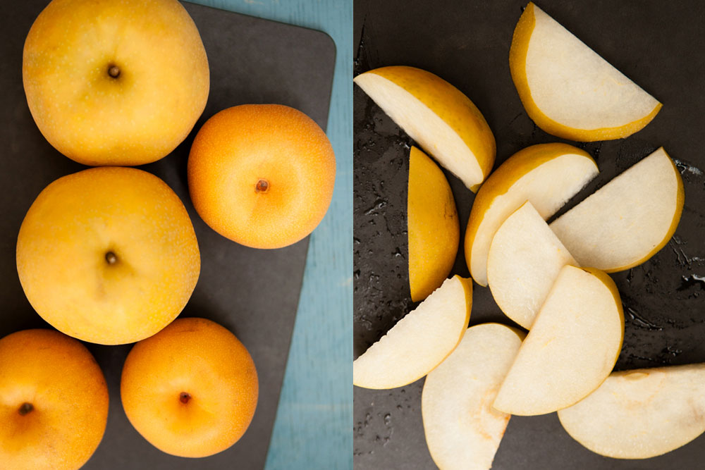 Northwest Fall Produce Asian Pears