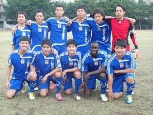 1217本校足球隊11人逆轉勝獲大專盃足球北區分組第一