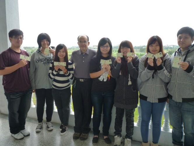 0218臺觀蕭志嚴老師(中)和七位同學