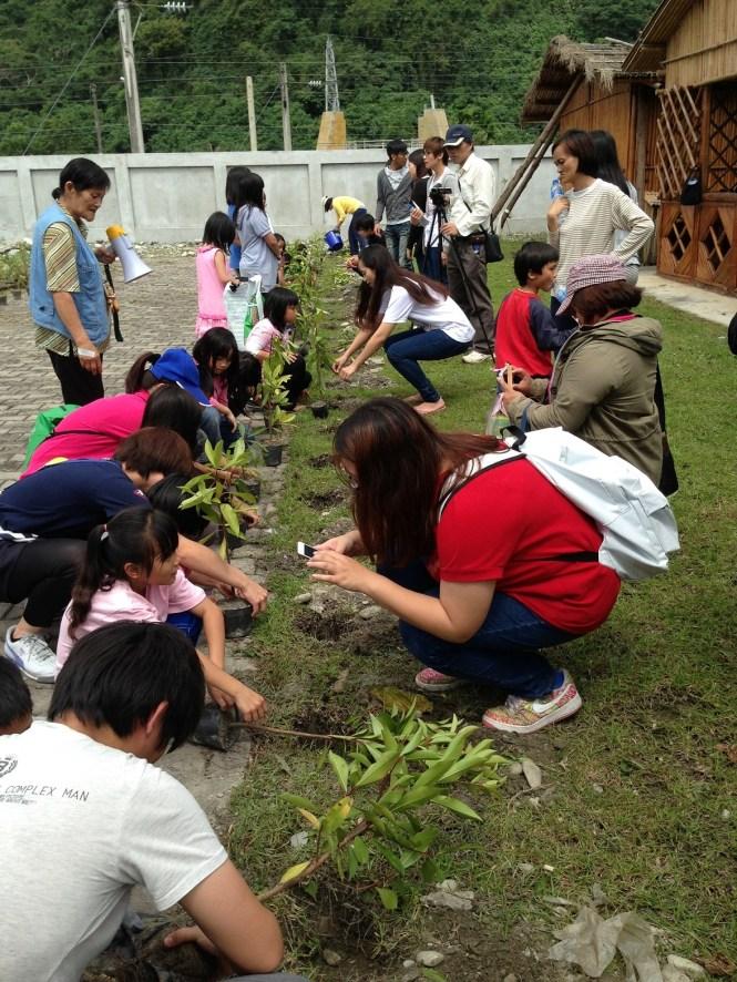 林管處植樹活動