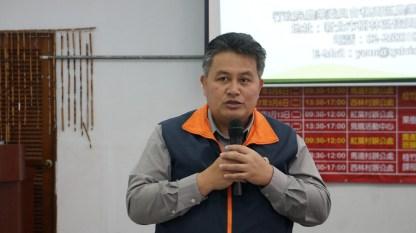 萬榮鄉公所林新銀鄉長勉勵族人認真學習