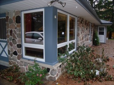 Ouside View of Awning Window