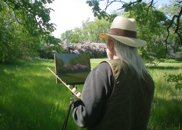 Painting Lilacs