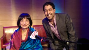 Meeting Madhur Jaffrey at the Greene Space