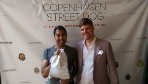 Savoring the delights at the Copenhagen Street Dog launch party