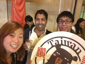 Taiwan Food & Tech show at Grand Central