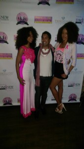 Pretty in pink at the DMochelle Breast Cancer Awareness and fashion show