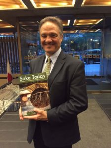 John Gaunter, presenter and editor of Sake World is the face of Japanese sake in America.