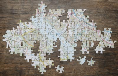 Mothers Day Jigsaw Puzzle Pieces