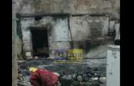 بالفيديو: حريق منزل بكاريان الحفرة حي الحسنية بن مسيك