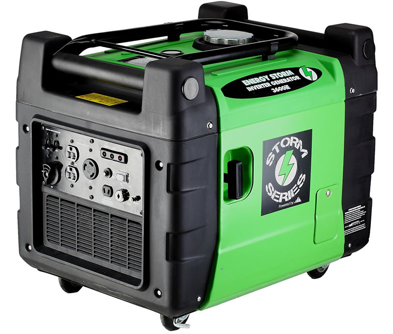 Lifan Energy Storm ESI 3600iER-CA, 3300 Running Watts/3500 Starting Watts, Gas Powered Portable Inverter