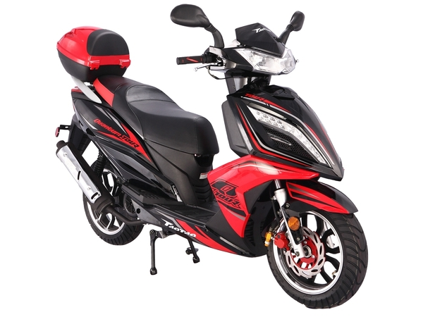 150 cc ; AIR COOLED; CVT TRANSMISSION; FRONT ABS DISC BRAKE